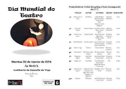 Día Mundial do Teatro